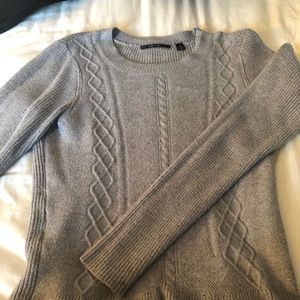 Cyrus cable knit flare sweater